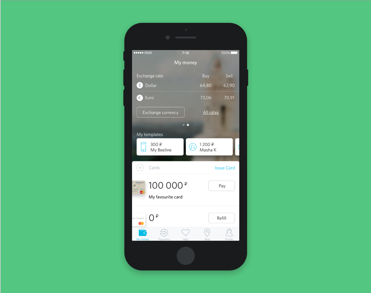 Mobile banking app redesign case study Banking app