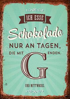 Schokolade   Postkarten   Grafik Werkstatt Bielefeld | Zitate
