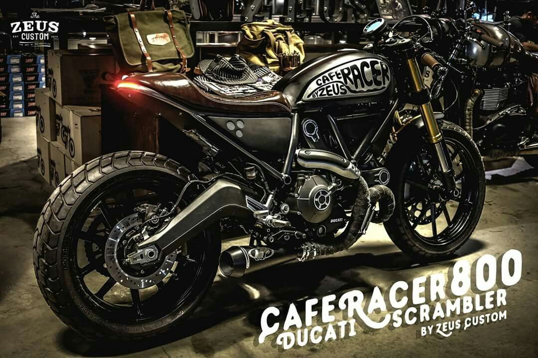 Ducati Cafe Racer Baffle Removal