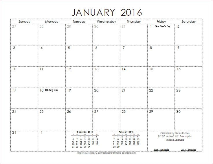 Calendar Template  Organization  Calendars