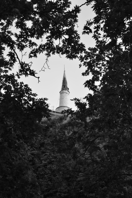 θέα σε μιναρέ, Ιωάννινα - view to minaret, Ioannina,Greece