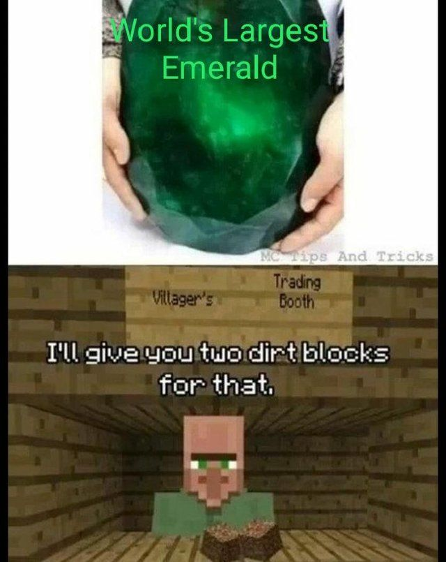 Sounds Like A Deal Minecraft Funny Minecraft Memes Minecraft Funny Memes
