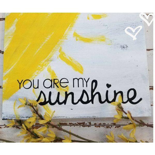 you are my sunshine sign/You are my Sunshine wall art/dorm decor ...