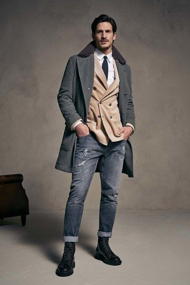 Collection Homme Brunello Cucinelli Automne 2018   – Men's Fashion Style