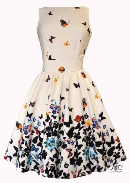 04285001d85 Милые платья с цветочным принтом