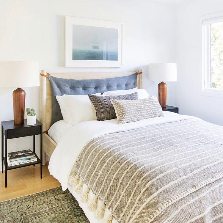 Scandinavian Bedroomdesign Ideas: Amber Lewis (@amberinteriors