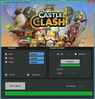 Free Castle Clash Hack Tool Download Unlimited Gems Working Castle Clash Hack Castle Clash Tool Hacks