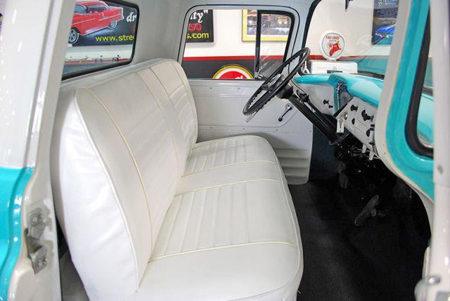 1955 Chevrolet C3100 Stepside Pickup Interior 2 View 1955