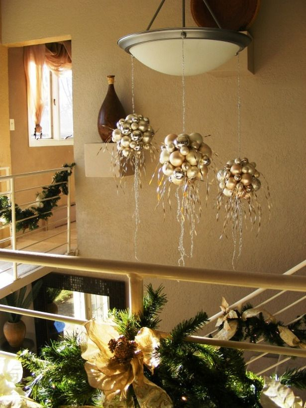 Diy christmas chandelier holiday decore pinterest christmas diy christmas chandelier aloadofball Choice Image