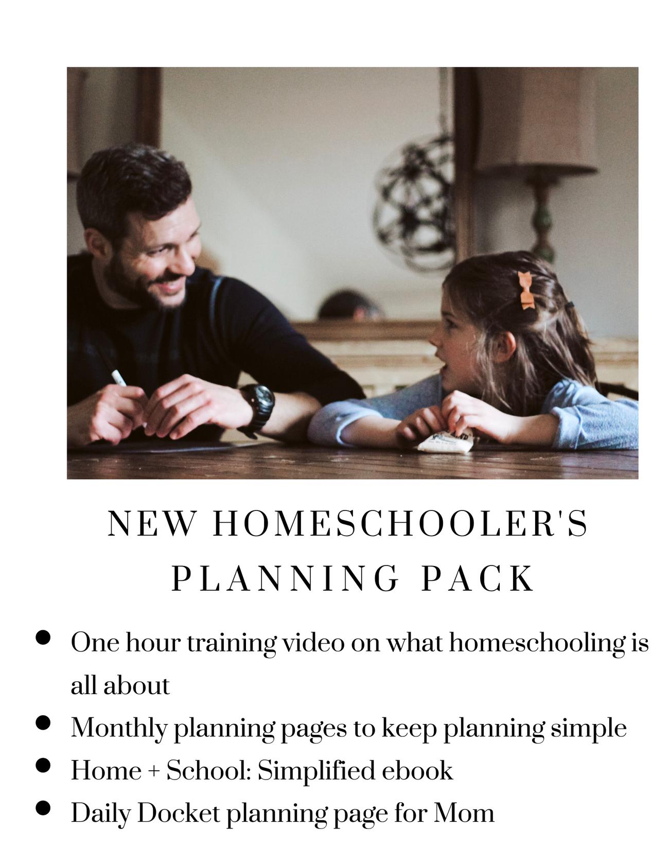 New Homeschooler S Getting Started Pack In 2021 Homeschool Homeschool Encouragement Homeschool Activities [ 1683 x 1300 Pixel ]