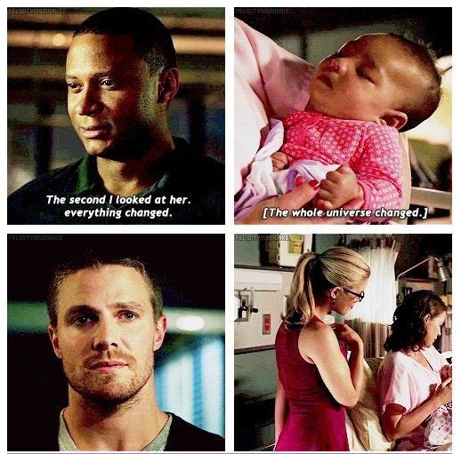 Arrow - Oliver, Diggle , Lyla and Felicity #3.1 #Season3 ♥
