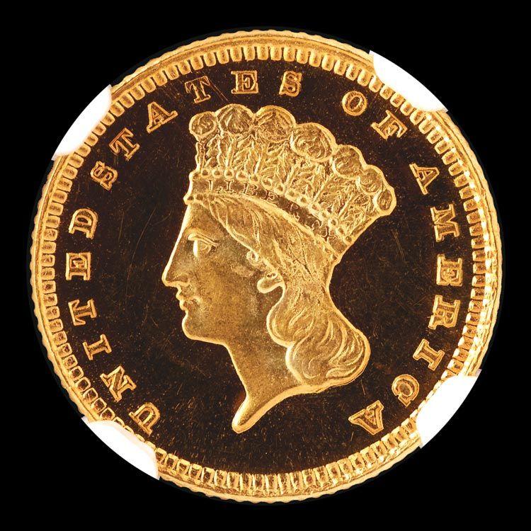 Gold Dollars 1885 G One Dollar Pf