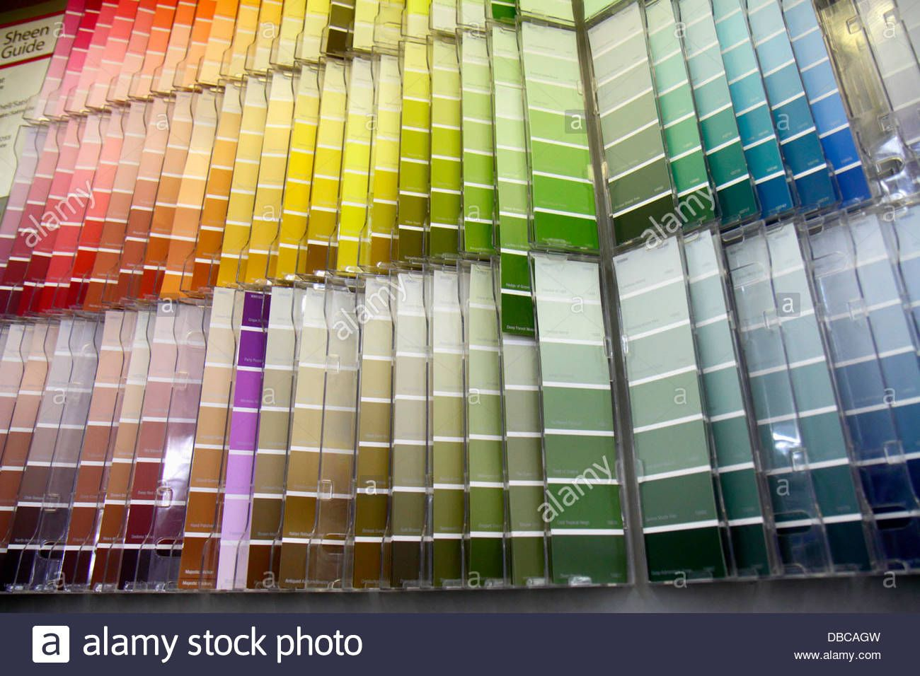 Florida hallandale beach walmart wal mart retail display sale paint department color chart stock photo also rh pinterest