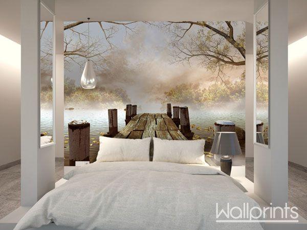Decoratie Slaapkamer Muur : Pin van ramona sijm op slaapkamer wallpapers