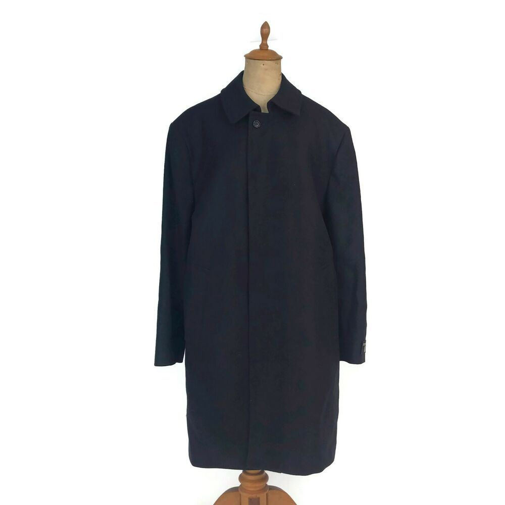 Anchor Uniform Men's Single Breasted Top Coat Pea Coat 100