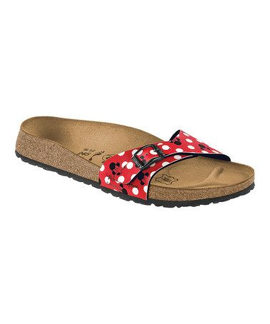 separation shoes 74d43 137a4 Take a look at this Minnie Red Birko-Flor Menorca Sandals ...