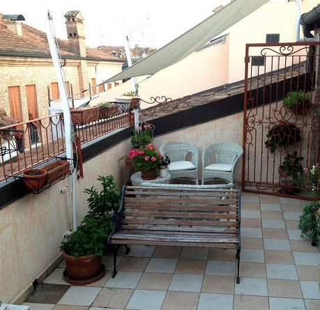 A home terrace with EVO3 - Ferrara, Italy https://www.facebook.com/pages/EVO3/523420044380035