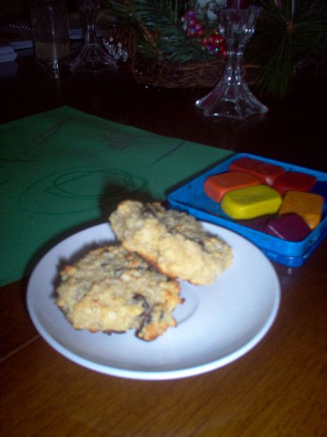 "Grain-free ""Oatmeal"" Raisin cookies (GAPS)"
