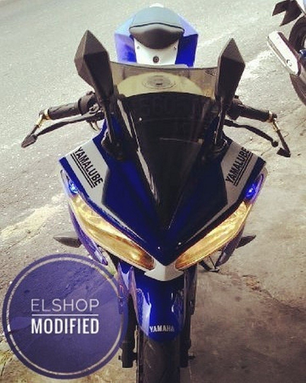 Yamaha R15 by Elshop Modifed not to be mistaken for R15 v3 0
