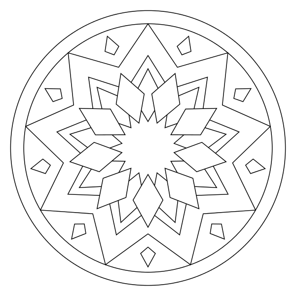 Tons of printable mandala designs free for download. Print these ...