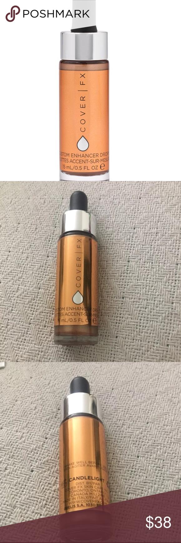 Cover FX Custom Enhancer Drops Cover fx, Cover fx makeup