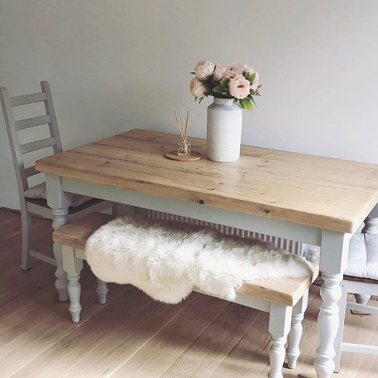 We Love How Our Customers Style Our Dining Tables Cosying This