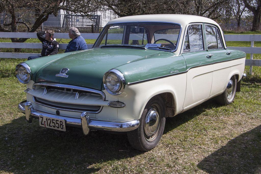 1956 Standard Vanguard Phase III 2.0L 4-Cylinder OHV Engine ...