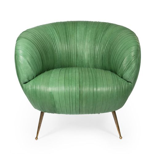 Wishing For A Pair Of These Kelly Wearstler Beauties! SOUFFLE LEATHER  CHAIRSOUFFLE LEATHER CHAIR · Couch FurnitureLobby FurnitureGreen ...