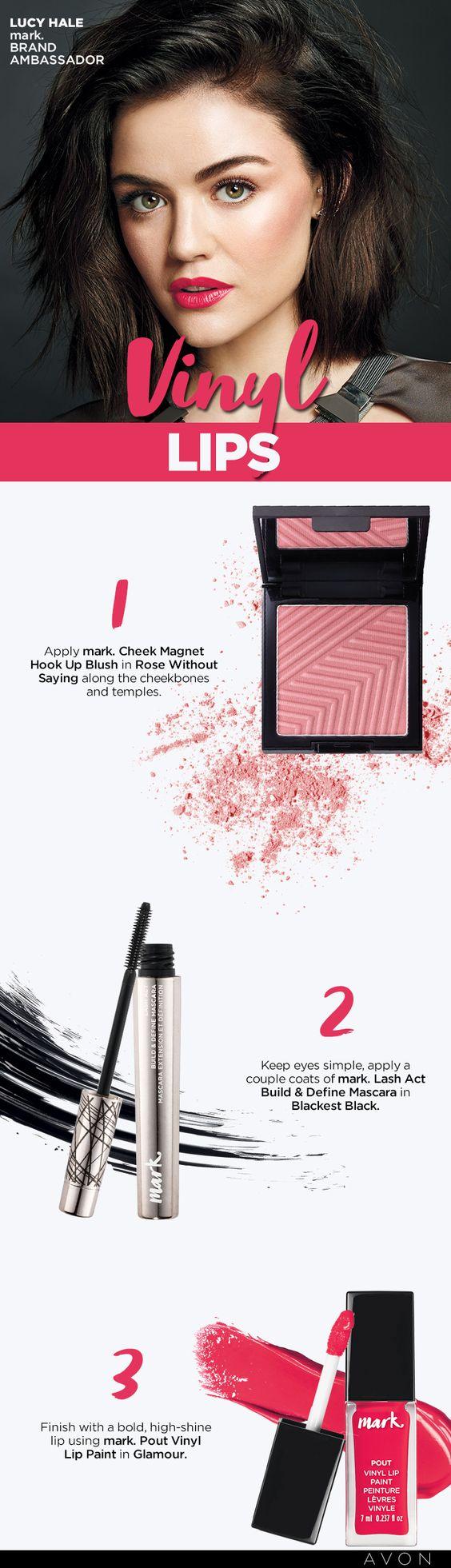 Pin by Avon Canadian Rep on Makeup Vinyl lips, Mark makeup