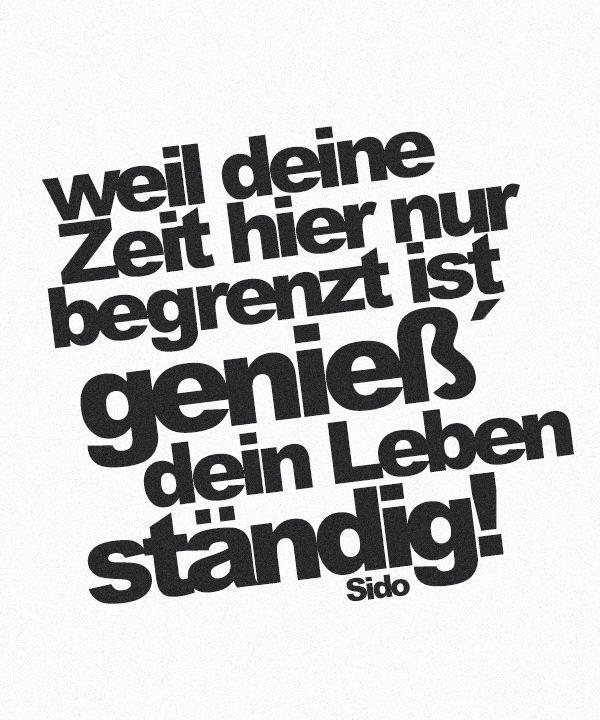 Pin Von Marysiaoo Auf German Stuff Spruche Zitate Rap Zitate