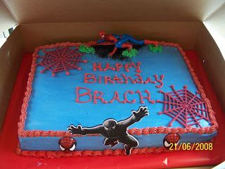 Boys Birthday Cakes At Walmart