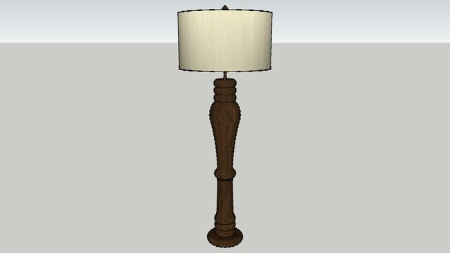 Floor Lamps At Lowes Adorable Large Preview Of 3D Model Of 482417 Lowes Ar Floor Lamp  3D Design Decoration