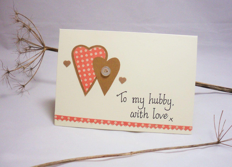 Husband Card Gift For Husband Hubby Card Husband Birthday