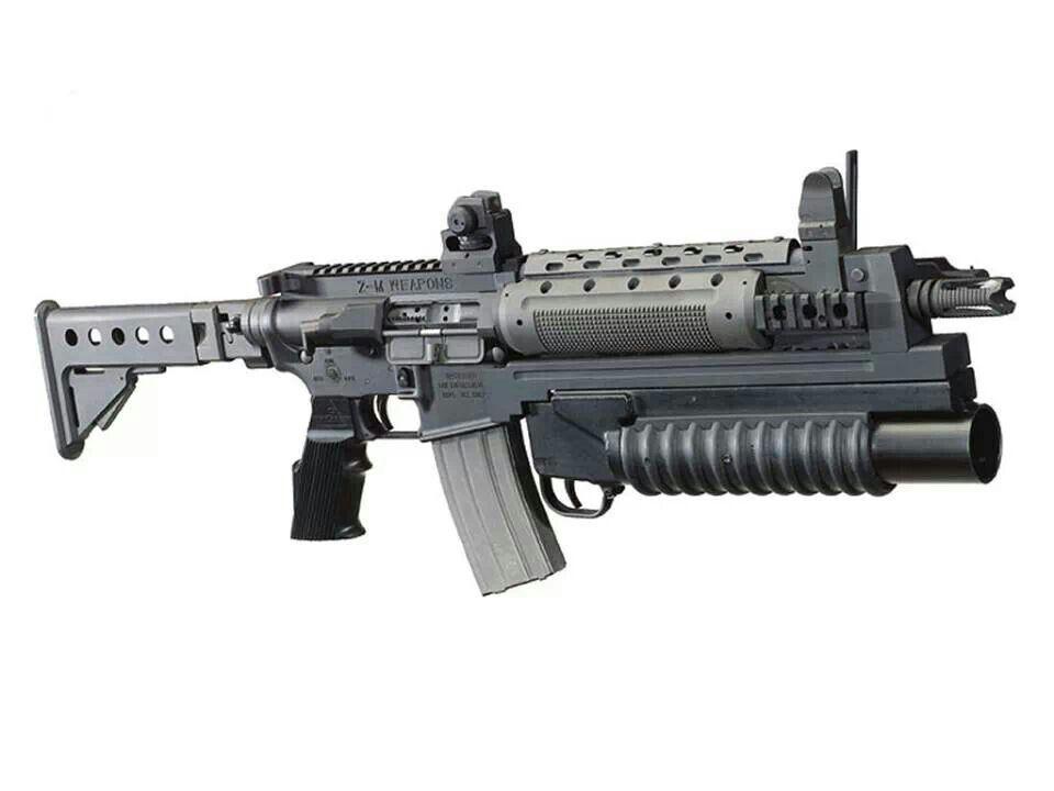 M4 +lanza-Granadas