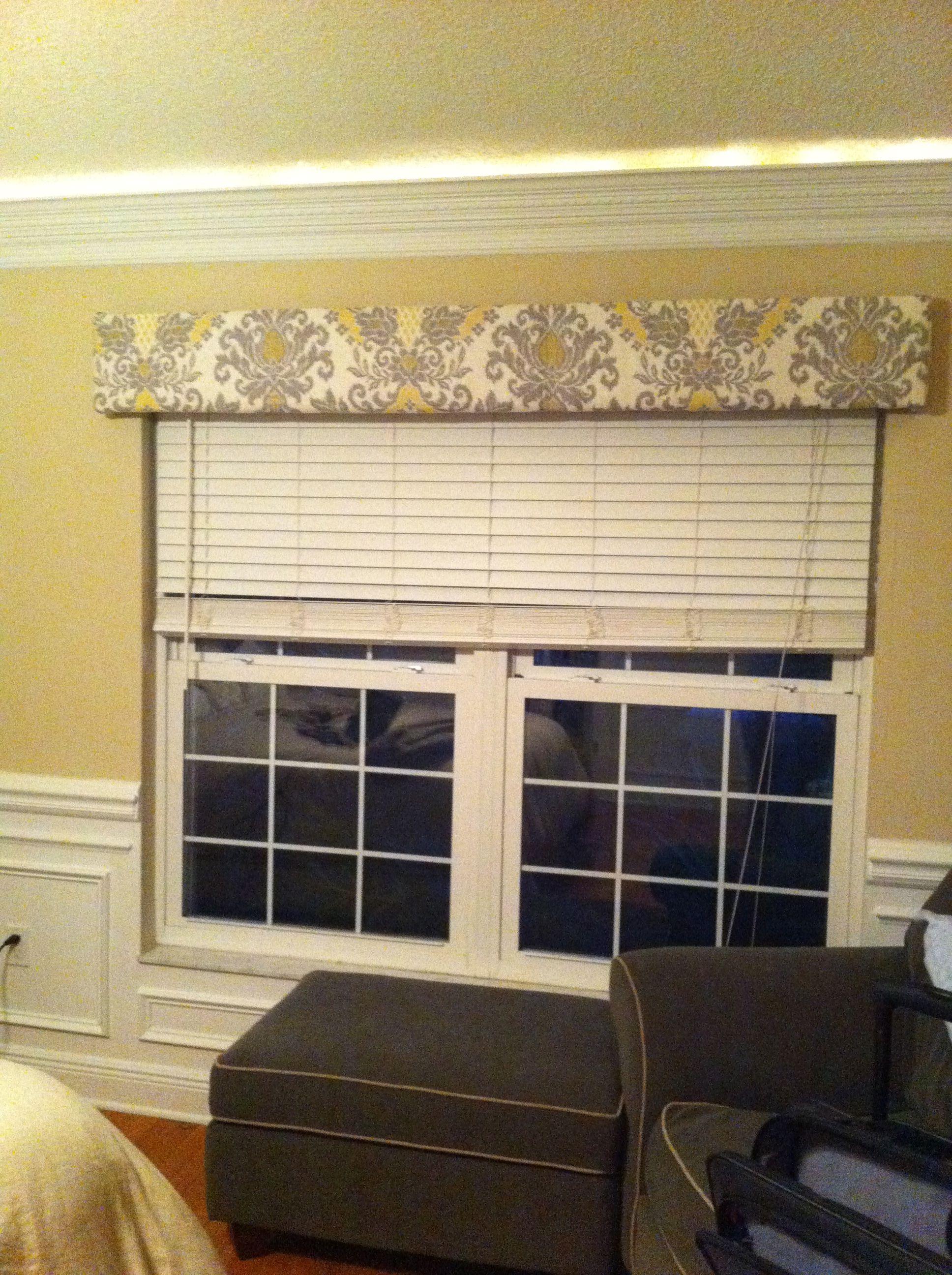 Diy window cornice christine todd for the sliding glass