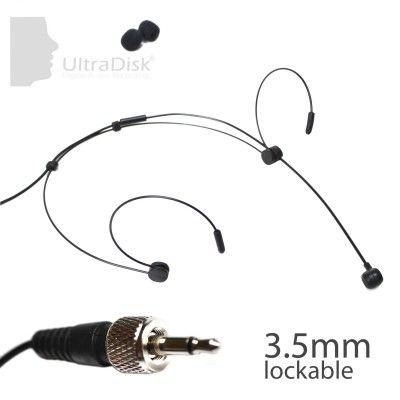 UltraDisk 4092 C2 Sennheiser Headset Microphone BLACK 3mm diameter unidirectional UKET Limited