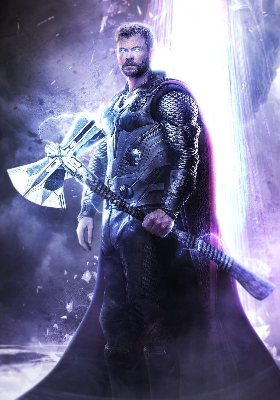 Artstation Avengers Endgame Thor And The Bifrost Mizuri Official Marvel Comics Wallpaper Thor Artwork Marvel Superhero Posters
