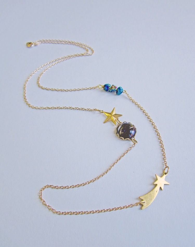 Always The Planetoid, Never The Planet Pluto Necklace
