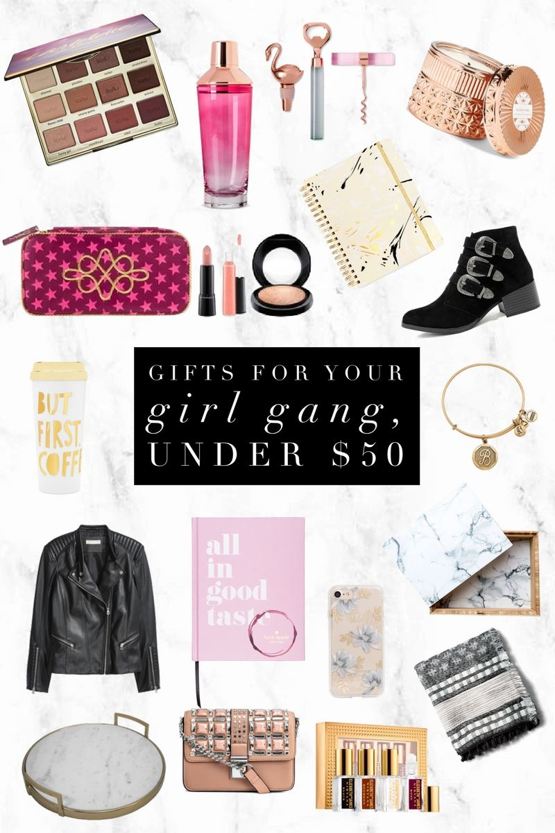 Gifts For Your Girl Gang Under 50 Christmas projects