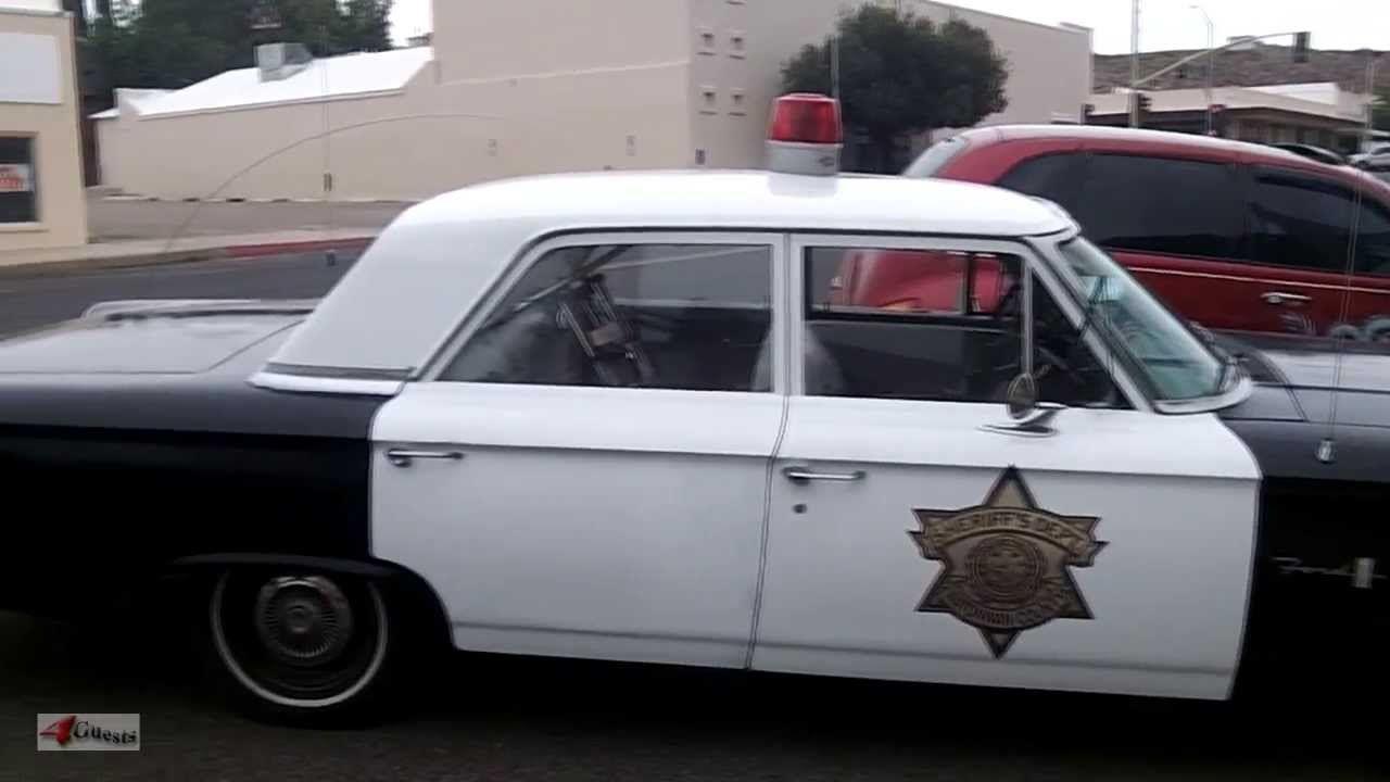 1963 Ford 300 ~ Police Car, Sheriff\'s Dept in Minnesota | Classic ...