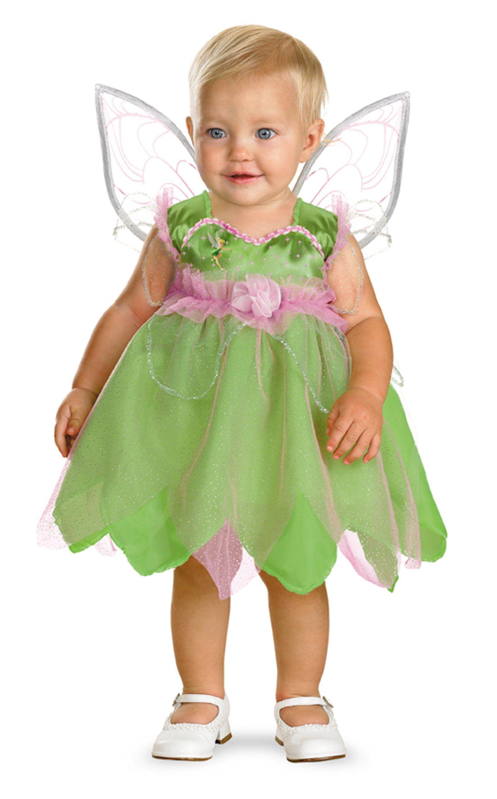 Infant Tinker Bell Deluxe Halloween Costume