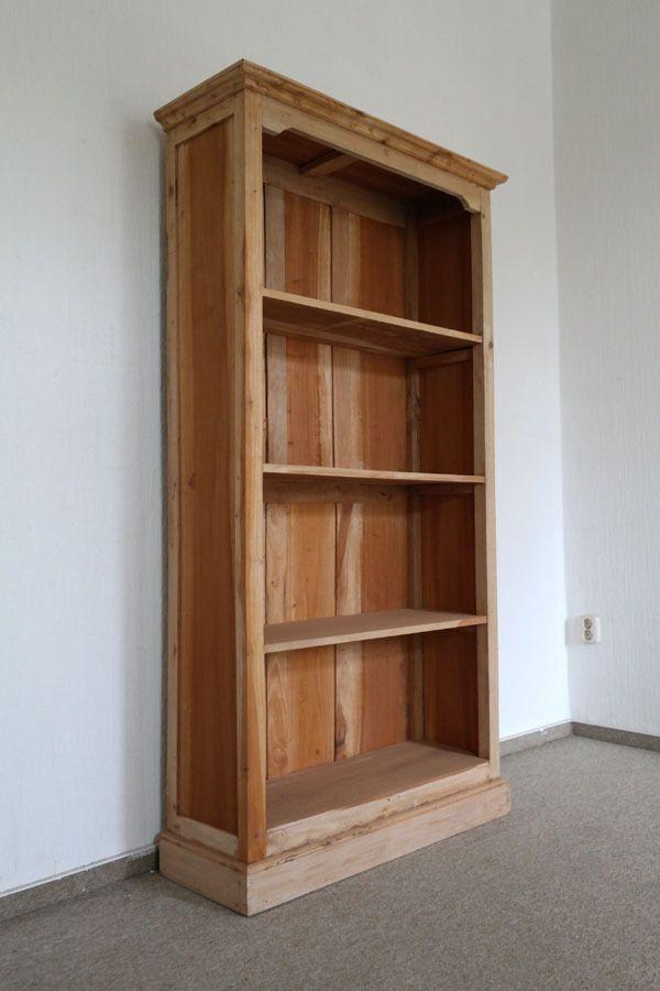 Standregal Buroregal Bucherregal Regal Antik Stil Rustikal Holz
