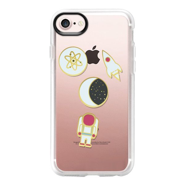 Space Pins - iPhone 7 Case And Cover ($40) ❤ liked on Polyvore featuring accessories, tech accessories, iphone case, apple iphone case, iphone cases, clear iphone case and iphone cover case