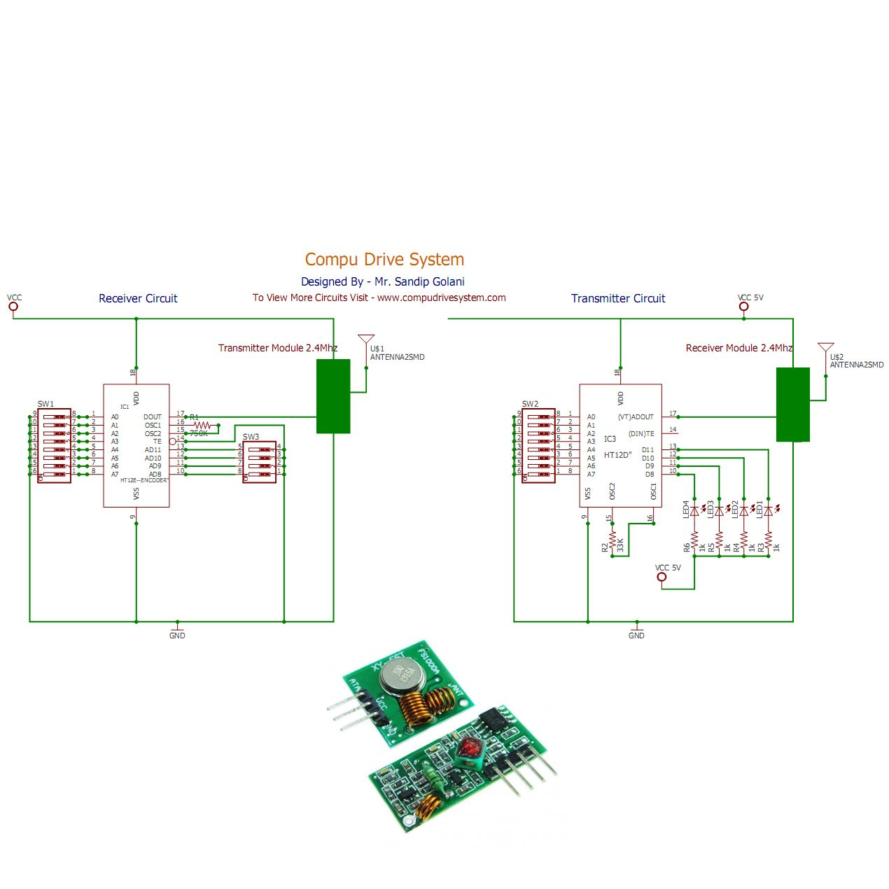 Today I Am Giving Circuit Rf Transmitter And Receiver Diagram Visit