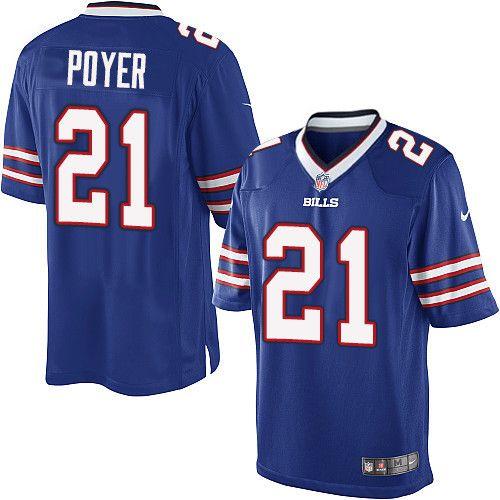 Youth Nike Buffalo Bills  21 Jordan Poyer Limited Royal Blue Team Color NFL  Jersey d700795fce
