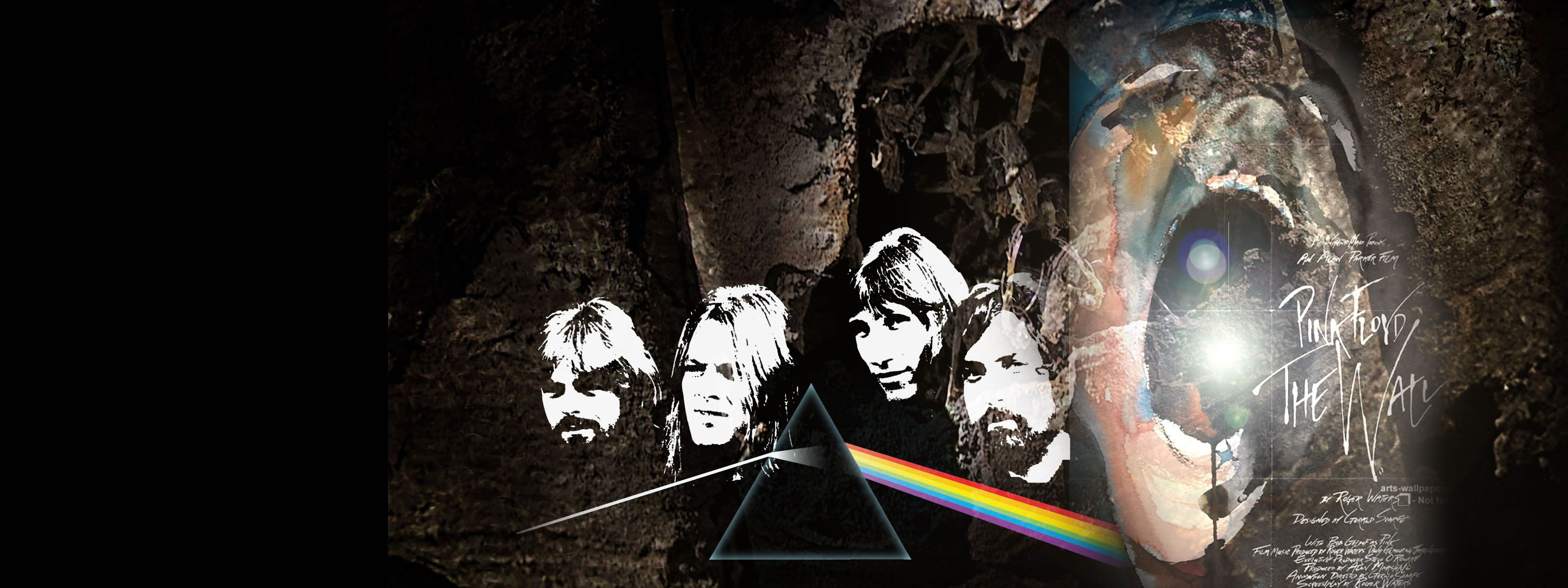 hd wallpapers scream against the wall under pinkfloyd