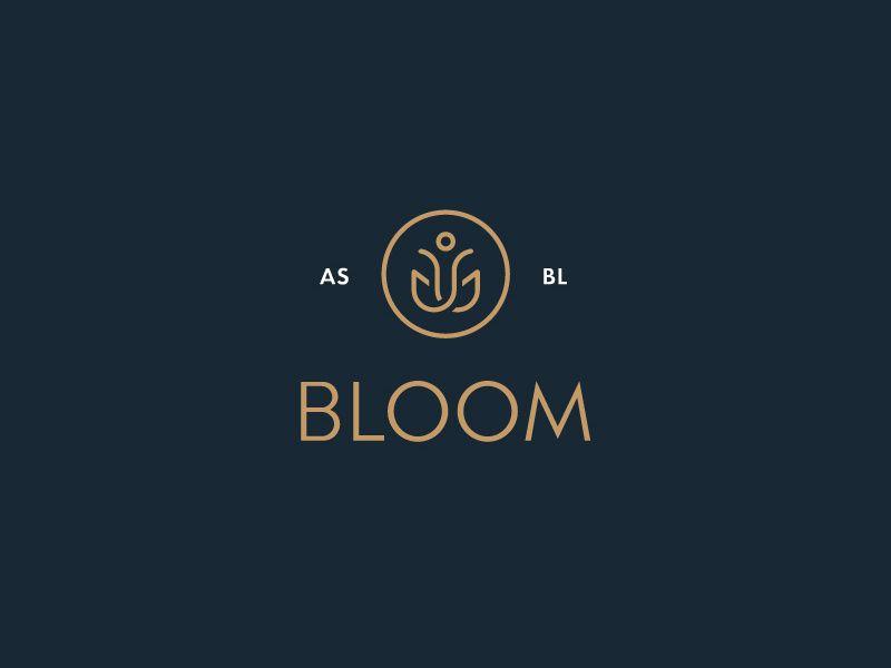 Bloom asbl in 2020 natural logo bloom skincare logo