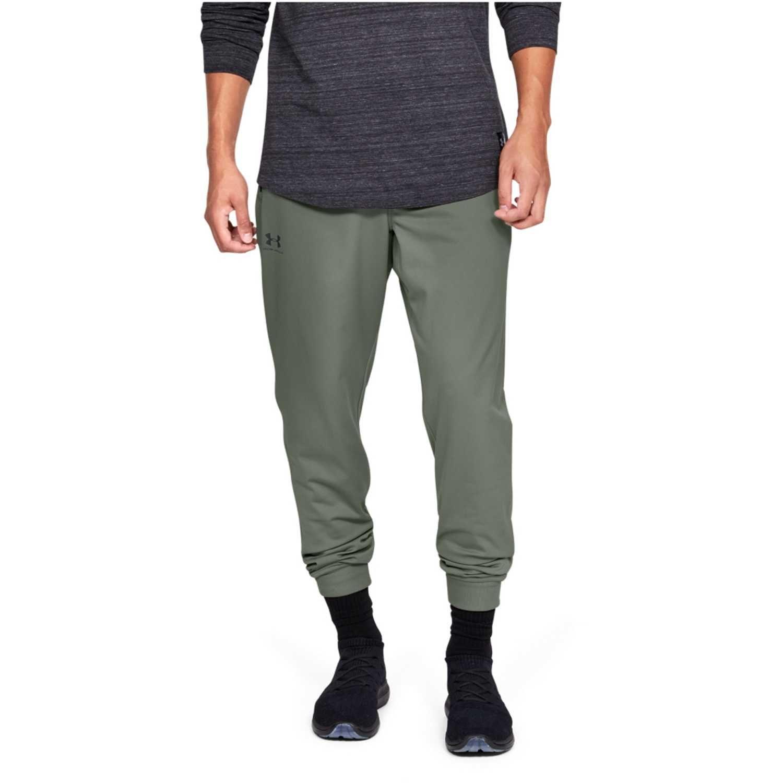gran venta de liquidación llega seleccione para genuino Under Armour sportstyle tricot jogger-grn Pantalón de Hombre ...