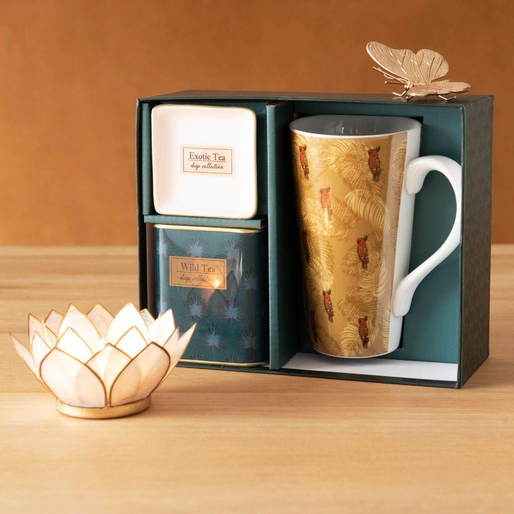 Maisons du Monde propose des coffrets cadeaux de thé décos pas ...