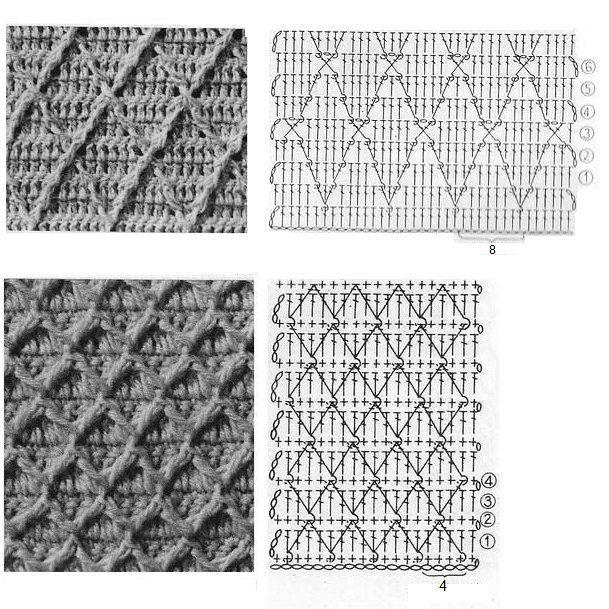 Pin de AliZ Manzano en motivos   Pinterest   Crochet patrones ...